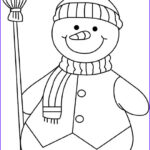Snowmen Coloring Pages Beautiful Photos Miscellaneous Christmas Coloring Pages