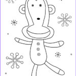 Sock Monkey Coloring Pages Awesome Gallery Sock Monkey Insanity Sock Monkey Coloring Book Page 2