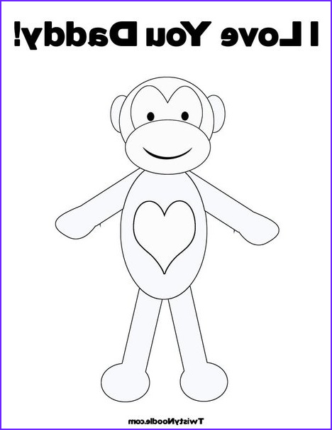 sock monkey family coloring pages sketch templates