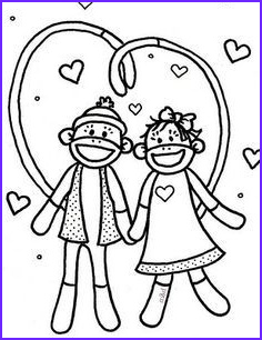 Sock Monkey Coloring Pages Unique Gallery sock Monkey Coloring Pages for Kids Enjoy Coloring