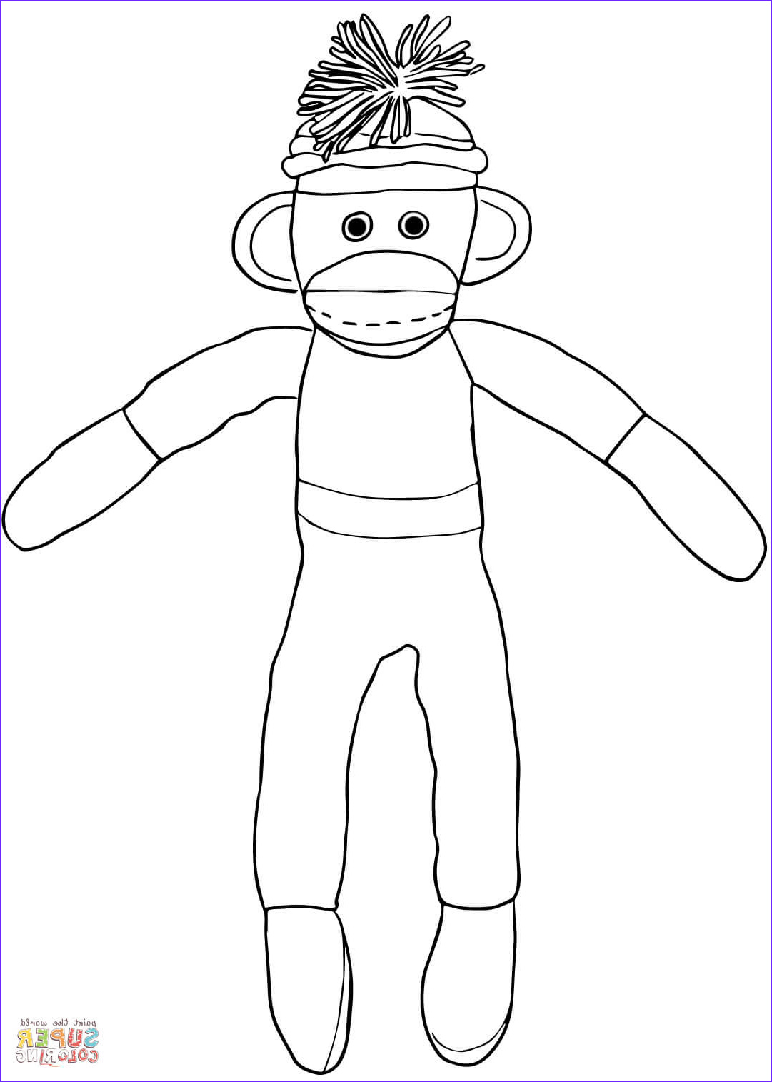 Socks Coloring Elegant Collection sock Coloring Page at Getcolorings