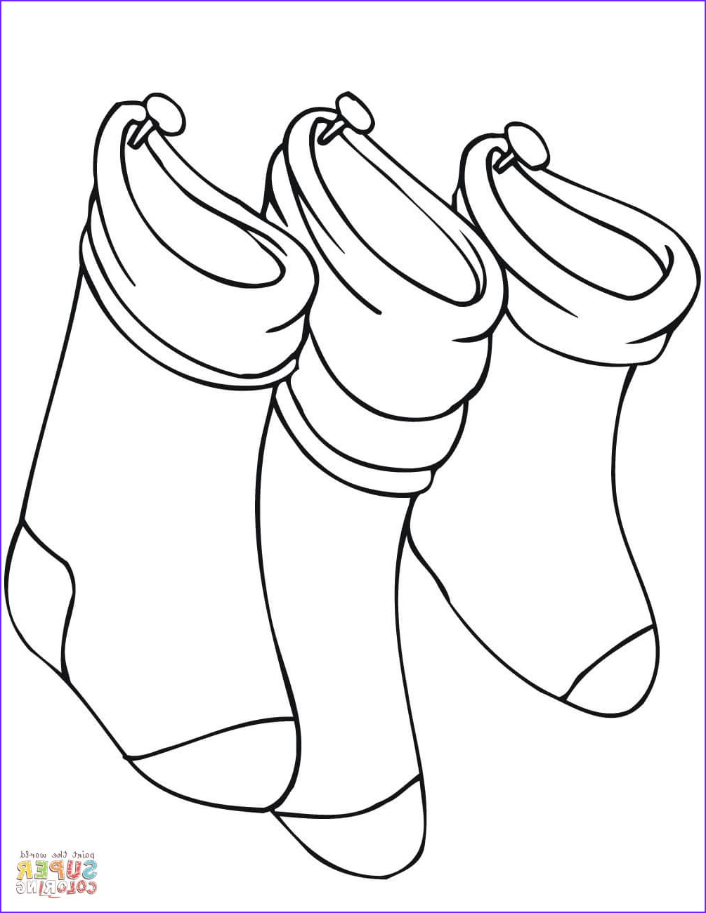 Socks Coloring New Stock sock Coloring Page at Getcolorings