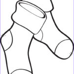 Socks Coloring Page Awesome Images Free Printable Christmas Stockings Coloring Page For Kids