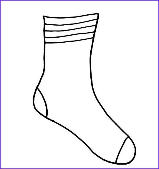 Socks Coloring Page New Collection socks for Fox Printable for Your Dr Seuss Fox In socks