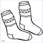 Socks Coloring Page New Images Kid Socks Coloring Page