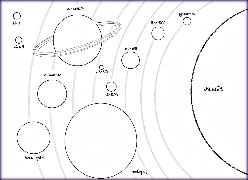 Solar System Coloring Page Awesome Photos 34 Printable solar System Coloring Pages the Planets In
