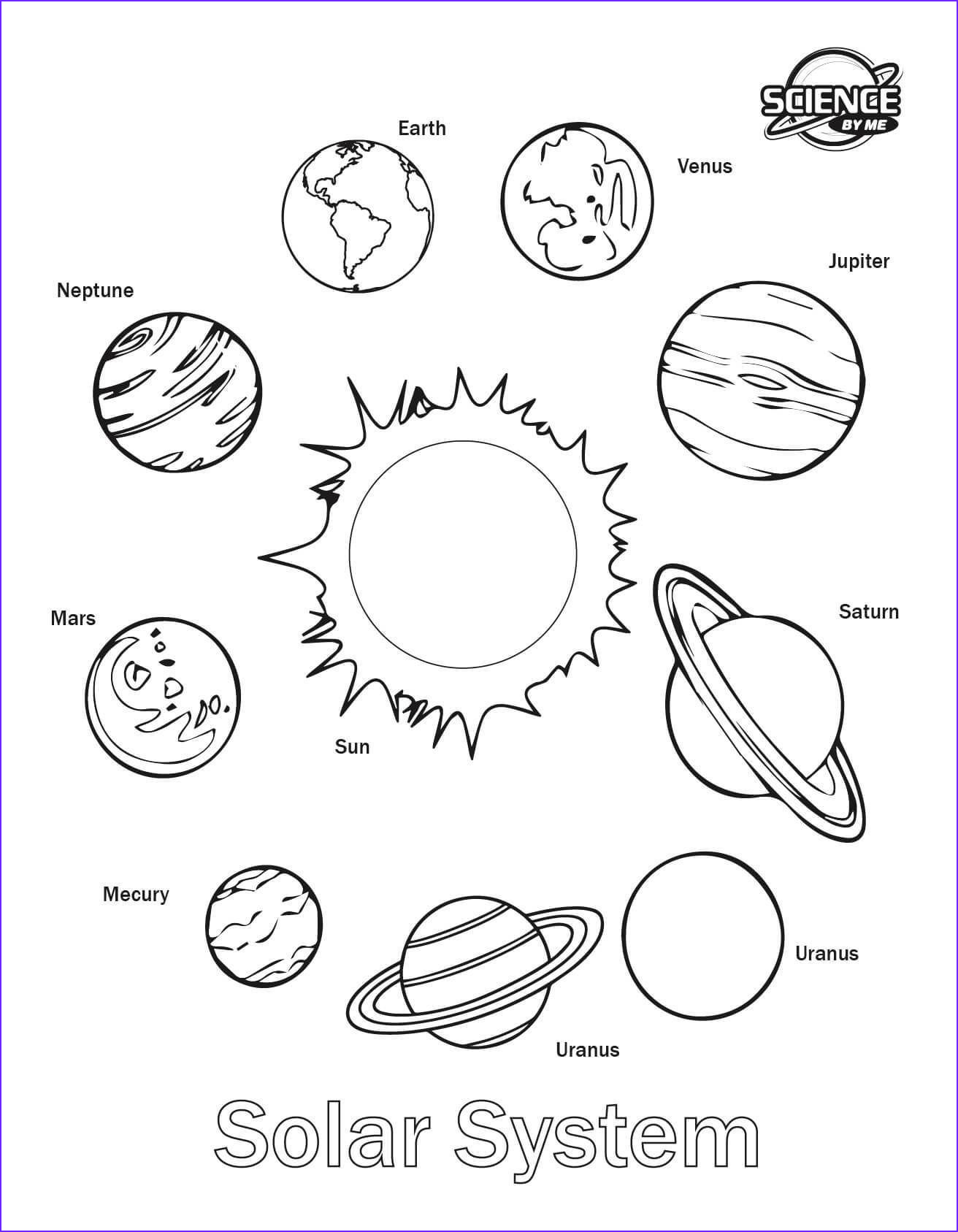 Solar System Coloring Page Cool Gallery solar System Coloring Pages Coloring Page