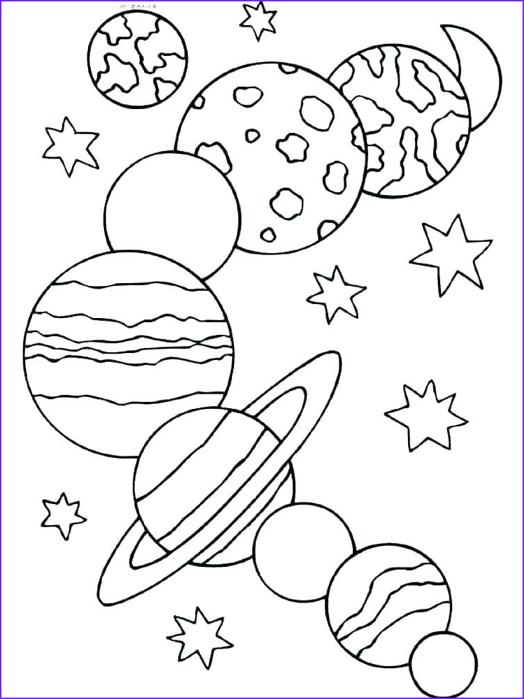 solar system drawing project