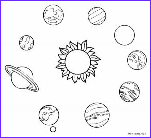 Solar System Coloring Page Inspirational Stock Printable solar System Coloring Pages for Kids