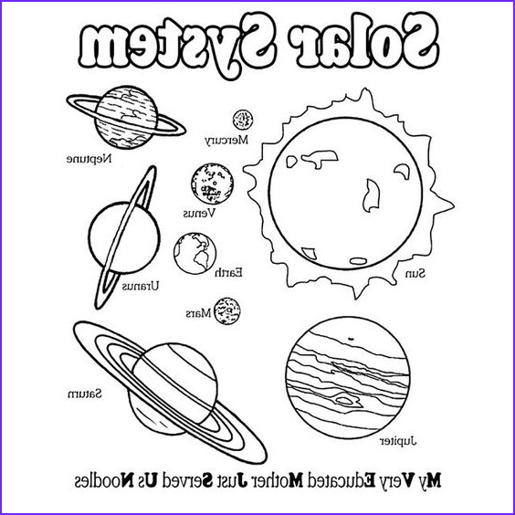 Solar System Coloring Page Unique Photography Coloring Pages solar System Sistema solar