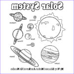 Solar System Planets Coloring Beautiful Collection Solar System Coloring Pages