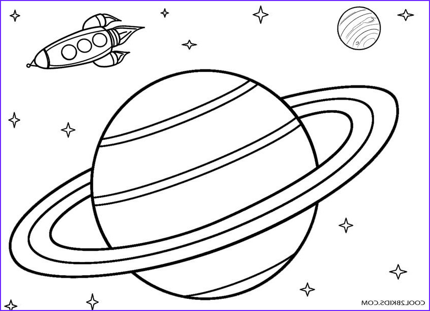 Solar System Planets Coloring Beautiful Gallery Printable Planet Coloring Pages for Kids