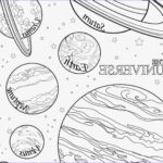 Solar System Planets Coloring Beautiful Gallery Solar System Planets Drawing At Getdrawings