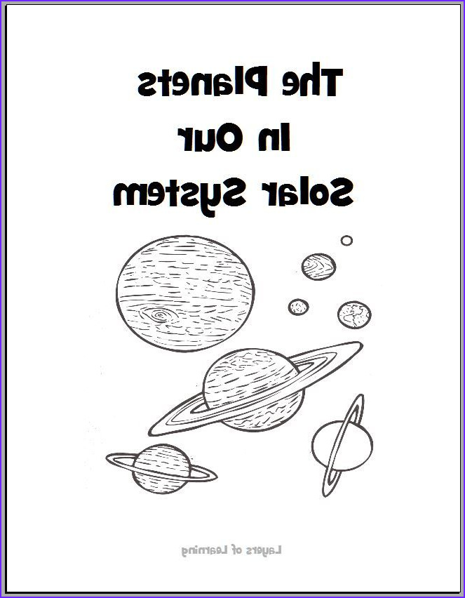 Solar System Planets Coloring Cool Images the Planets In Our solar System Coloring Book Free