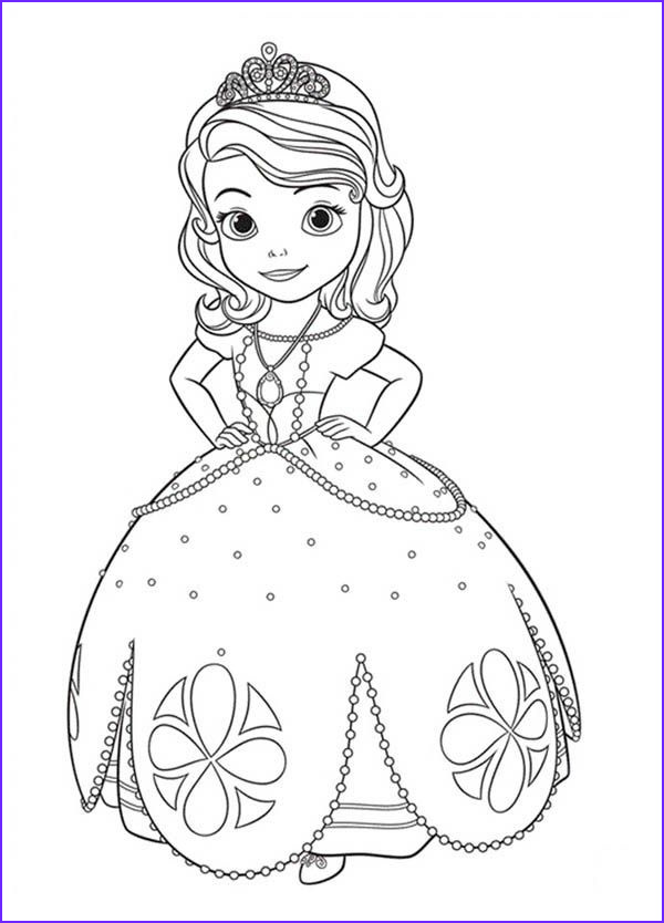 Sophia the First Coloring Book New Image Princess sofia the First Coloring Pages