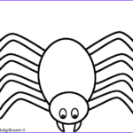 Spider Coloring Inspirational Gallery Spider Coloring Page Halloween