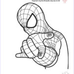 Spider Coloring New Collection Free Printable Spiderman Colouring Pages And Activity
