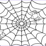 Spider Coloring Unique Gallery Printable Spider Web Coloring Pages For Kids