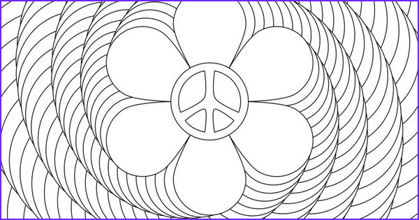 Spiral Adult Coloring Book Cool Photography Don T Eat the Paste Flower Power Spiral Coloring Page