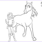 Spirit Coloring Pages New Photography Spirit Riding Free Coloring Pages Lucky And Horse Spirit