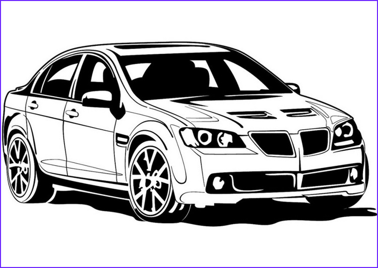 Sports Car Coloring Pages Luxury Gallery Sports Car Coloring Pages to Print 13 Image – Colorings