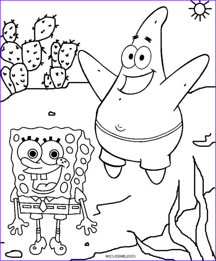 Spungebob Coloring Awesome Photography Printable Spongebob Coloring Pages for Kids