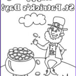 St Patrick Day Coloring Pages Beautiful Gallery Happy St Patrick's Day By The Old Irish Leprechaun