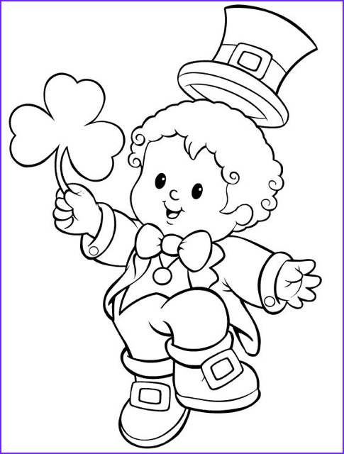 st patricks day coloring page 5