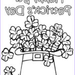 St Patrick Day Coloring Pages Cool Collection 12 St Patrick's Day Printable Coloring Pages For Adults