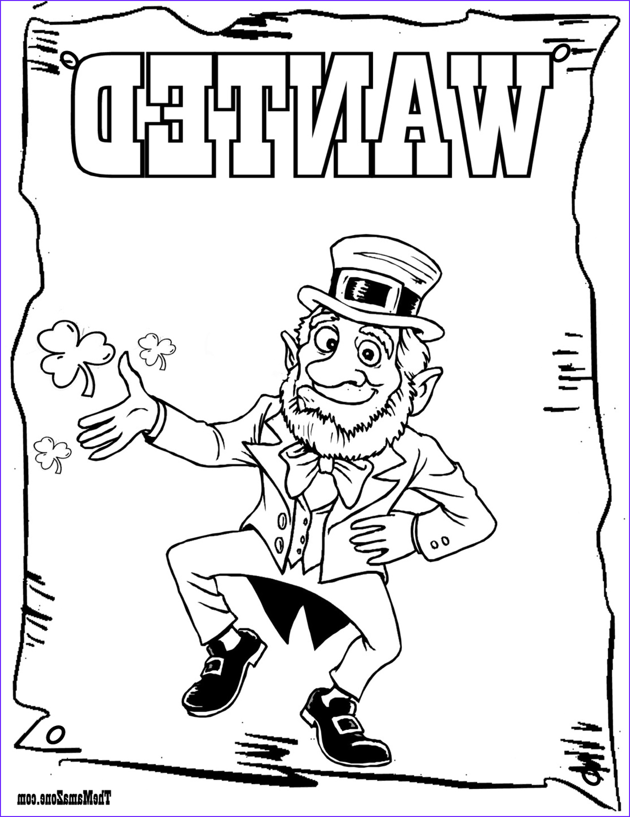 saint patricks day coloring pages