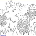 St Patrick Day Coloring Pages Inspirational Photos 12 St Patrick's Day Printable Coloring Pages For Adults