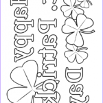 St Patrick Day Coloring Pages Inspirational Photos Shamrock Coloring Pages Google Search