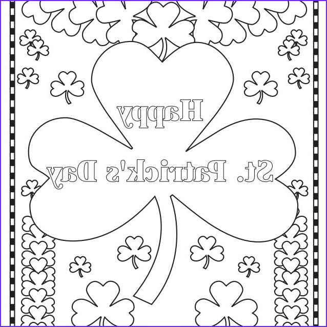 free st patrick s day coloring pages