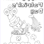St Patrick Day Coloring Pages New Stock Free Printable St Patrick's Day Coloring Pages 4 Designs