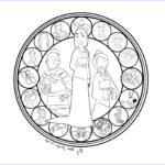 Stained Glass Coloring Books Beautiful Photos Song Of Mu Lan March Bom Celebrating Women S History