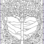 Stained Glass Coloring Books Unique Photos 1320 Best Creative Haven Coloring Pages By Dover Images On