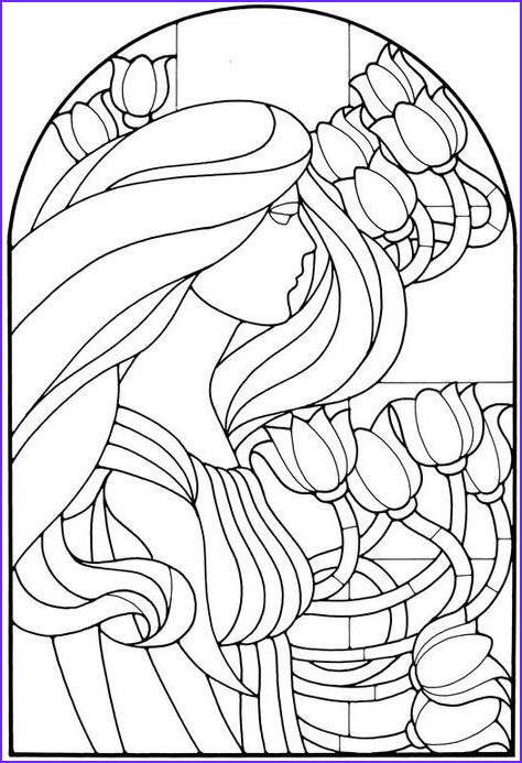 Stained Glass Coloring Pages for Adults Awesome Images 72 Best Stained Glass Coloring Pages for Adults Images On