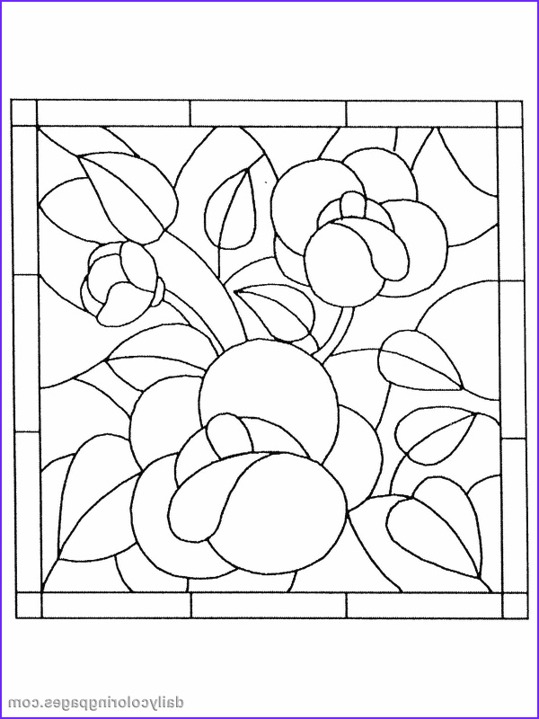Stained Glass Coloring Pages for Adults New Photos Stained Glass Coloring Pages for Adults Timeless Miracle