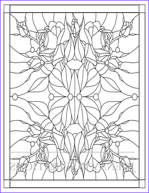 Stained Glass Coloring Pages for Adults Unique Collection 72 Best Stained Glass Coloring Pages for Adults Images On