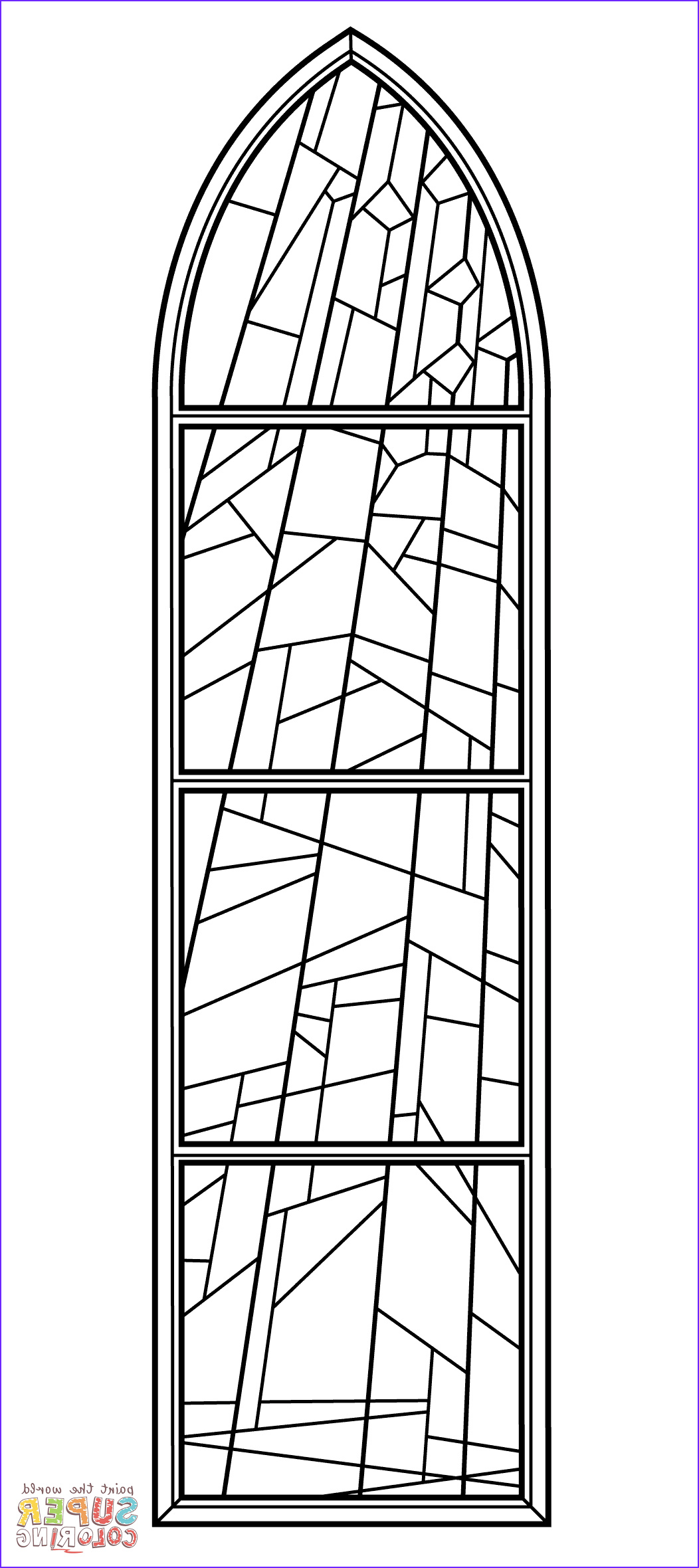 stained glass window from anglican church