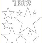 Star Coloring Page Awesome Collection Free Stars Coloring Page Star Shape Worksheet – Supplyme