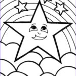 Star Coloring Page Beautiful Collection Flower Wallpaper