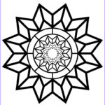 Star Coloring Page Best Of Photos Free Printable Adult Coloring Page Detailed Star Pattern