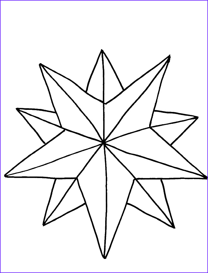 Star Coloring Page New Photos A Nice Christmas Star Coloring Pages