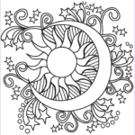 Star Coloring Page Unique Photos Pop Art Sun Moon And Stars Coloring Page