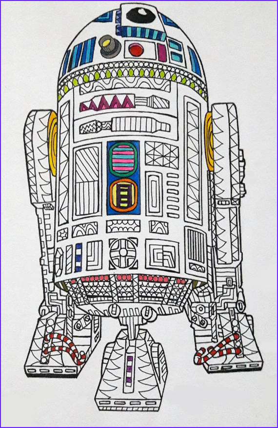 r2 d2 star wars coloring page star wars