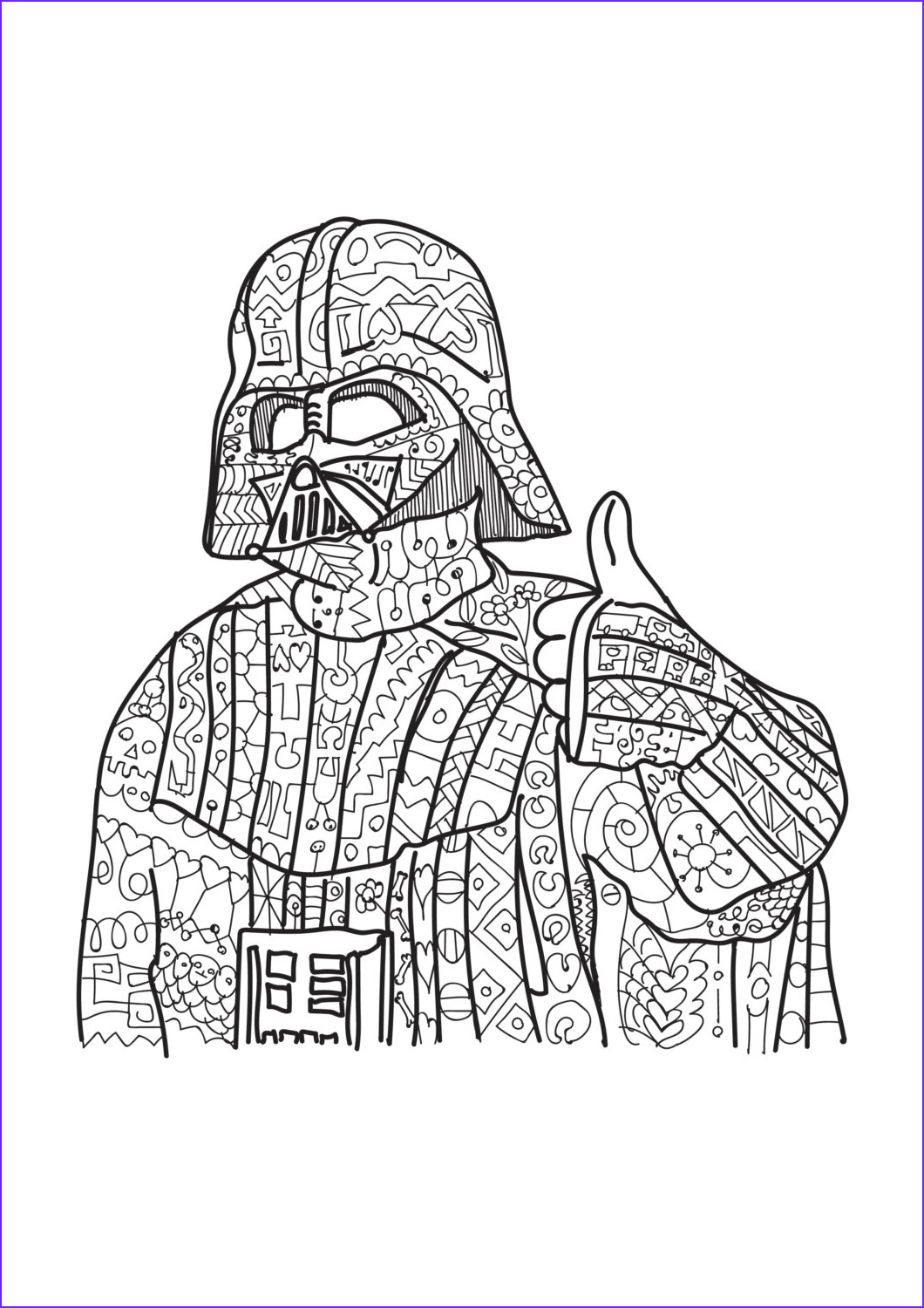 Star Wars Adult Coloring Pages Cool Photos Darth Vader Star Wars Coloring Page Adult Coloring