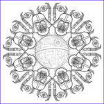 Star Wars Adult Coloring Pages Elegant Photography Star Wars Mandala Google Search