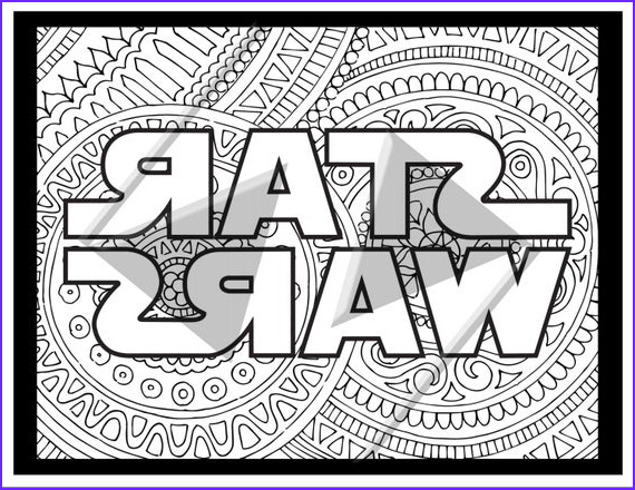 Star Wars Adult Coloring Pages Inspirational Image Sale Star Wars Coloring Pages Star Wars Logo by Ink88