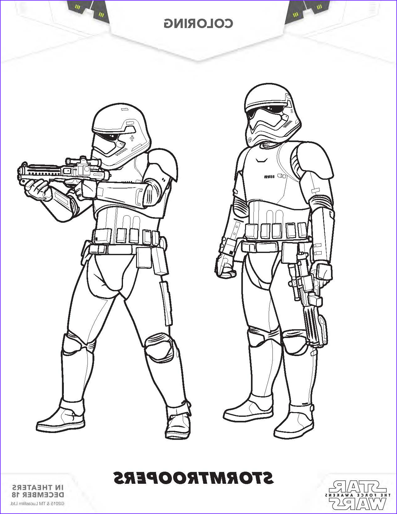 Star Wars Characters Coloring Pages Beautiful Photography Star Wars Coloring Pages the force Awakens Coloring Pages